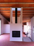The 100.000 euros house and its metal railing. Simplicity and economy